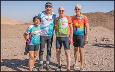 South Jersey residents explore Israel by bicycle | Jewish